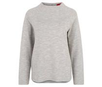 Sweatshirt, Oversize, Reißverschluss, unifarben