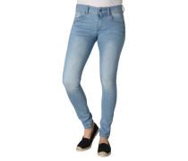 "Jeans ""Lynn"", Mid Skinny, Super-Stretch, Destroyed-Effekte"