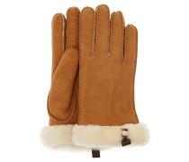 Handschuhe, Leder, Lammfell