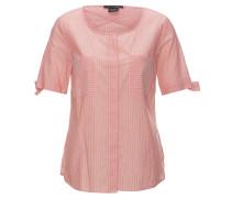 Blusenshirt, gestreift, Brusttaschen, Baumwolle, Schleife am Ärmelsaum