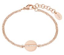 Damen-Armband mit Zirkonia IP ROSE