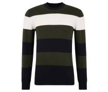 Pullover, Strick, gestreift, Baumwolle