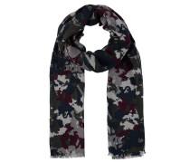 Schal, Fransen, Camouflage, Baumwolle