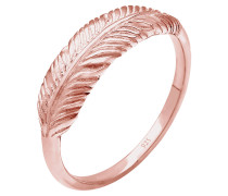 Ring Feder Flügel Boho Trend 925 Sterling Silber
