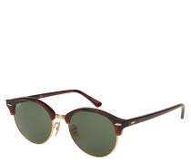 """Sonnenbrille """"RB 4246 Clubround"""", grüne Gläser"""