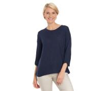 Pullover, 3/4-Arm, leicht transparent, uni