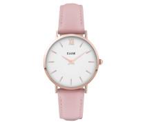"""Damenuhr """"Minuit"""" CL30001, pink / weiß"""