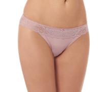 Panty, Spitze, Schleifen-Detail, leicht transparent