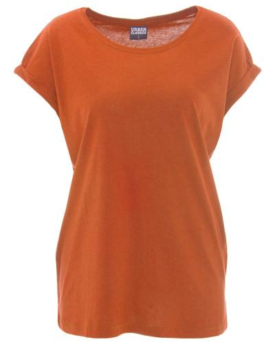 T-Shirt, Baumwolle, Kurzarme umgenäht