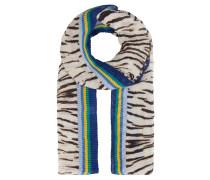 Schal, Animal-Print, Streifen