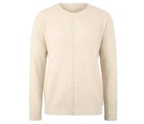Pullover, Strick, Rundhalsausschnitt, unifarben