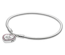 """Armband """"Liebesschloss"""", 596586FCP-18"""
