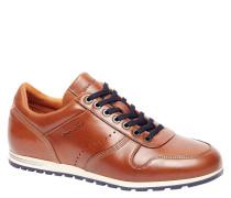 Sneaker, Leder, Gummisohle