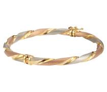 Armreif Gold 375 Tricolor