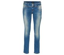 """Jeans """"Molly"""", Used-Look, niedrig geschnitten"""