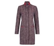Klassischer Mantel, Lederapplikationen