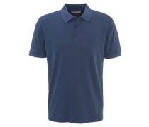 Poloshirt, uni, Brusttasche, Baumwoll-Mix