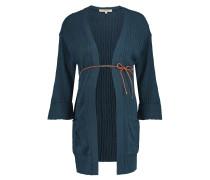 Strickjacke Kimono, Volant-Ärmel, schmaler Gürtel