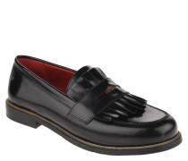 Loafer, Glattleder, Haferlasche