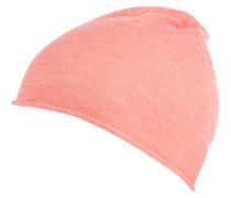 Mütze, Feinstrick, Rollsaum