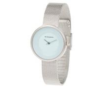 Armbanduhr, analog, Edelstahl, 3-Zeiger