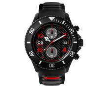 ICE carbon black & white Herrenuhr CA.CH.BK.BB.S.15