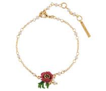 "Armband ""Mohnblume"" AIPM202/1, vergoldet"