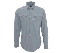 Freizeithemd, gestreift, Baumwolle, Kent-Kragen, Brusttaschen
