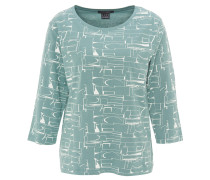 Shirt, 3/4-Arm, geometrisches Design