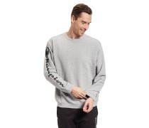 Sweatshirt, Oversize Fit, Rippbündchen, Marken-Schriftzug am Arm
