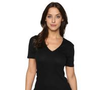 """Wäsche-Shirt """"Cotton Seamless"""", unifarben, V-Ausschnitt"""