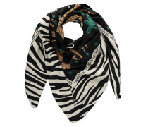 Tuch, Mustermix, Animal-Muster, Tiger-Print