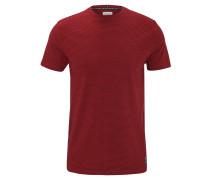 T-Shirt, Streifen, Baumwolle, Rundhalsauschnitt