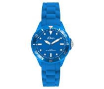 Armbanduhr SO-2314-PQ mit Silikon Armband