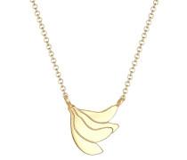 Halskette Banane Frucht Tropical Sommer 925 Sterling Silber