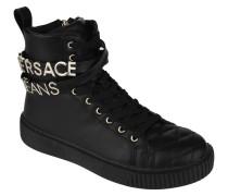 Sneaker, Logo-Anhänger, Reißverschluss