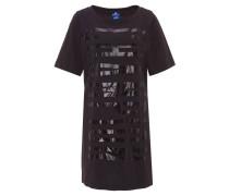 Kleid, Kurzarm, Print, Baumwolle