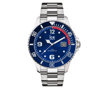 ICE steel - Blue silver - Medium - 3H 015771 Herrenuhr