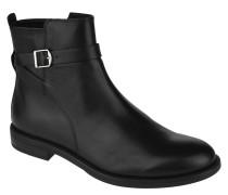 Chelsea Boots, Leder, uni, Riemchen