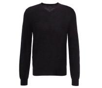 Pullover, Merinowolle, V-Ausschnitt
