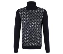 Pullover, Muster, Rollkragen