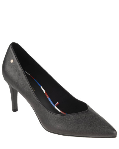 "Pumps ""Metallic Leather Pump"", Leder, spitz"
