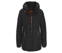 Mantel, Steppung, breiter Stehkragen