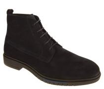 Boots, Veloursleder, Schnürung