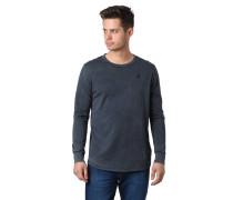 Langarmshirt, Used-Look, Rippbündchen