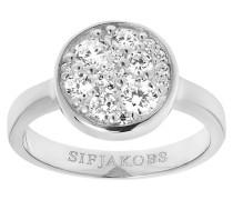 """Ring """"Novara""""mit weißen Zirkona SJ-R1056-CZ"""