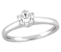 Diamant-Ring, gold 585, ca 0,50 ct