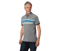 """Poloshirt """"Piero"""", Piqué, Streifen-Details"""