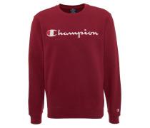 Sweatshirt, Marken-Print, elastische Abschlüsse