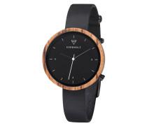 Armbanduhr Hilde Black /Zebrano Midnight Black WATWHIL7524
